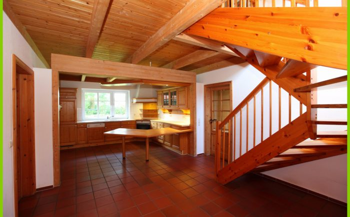 Küche Eingang