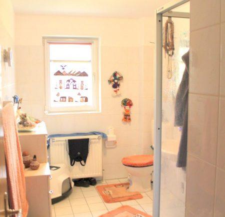 Badezimmer mit Fussbodenerwärmung