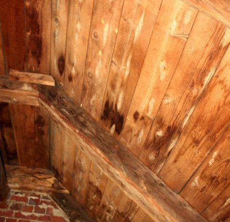 Dach von unten