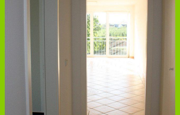 Blick zum Wohnzimmerq