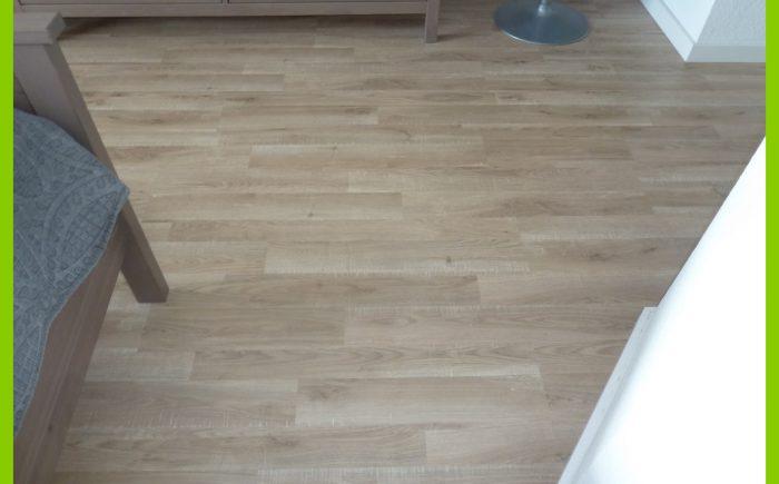Neuer Bodenbelag Schlafzimmer