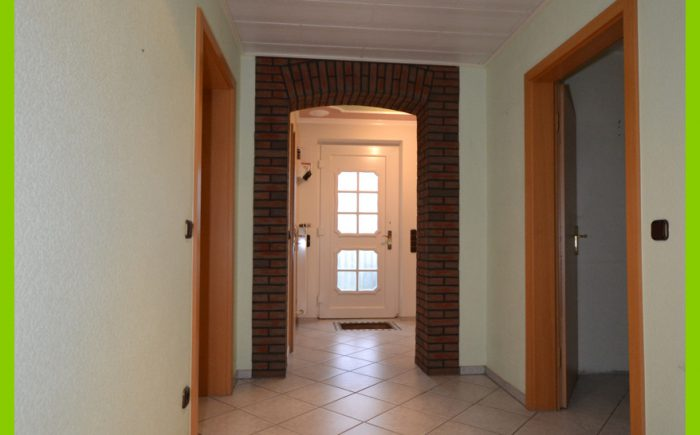 Der Flurbereich im Erdgeschoss.