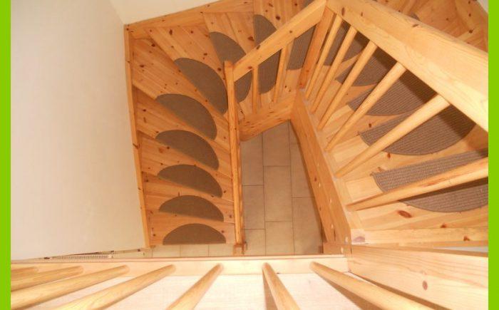 Treppe von oben