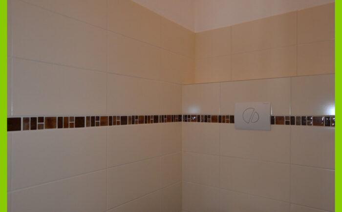 Das moderne WC.
